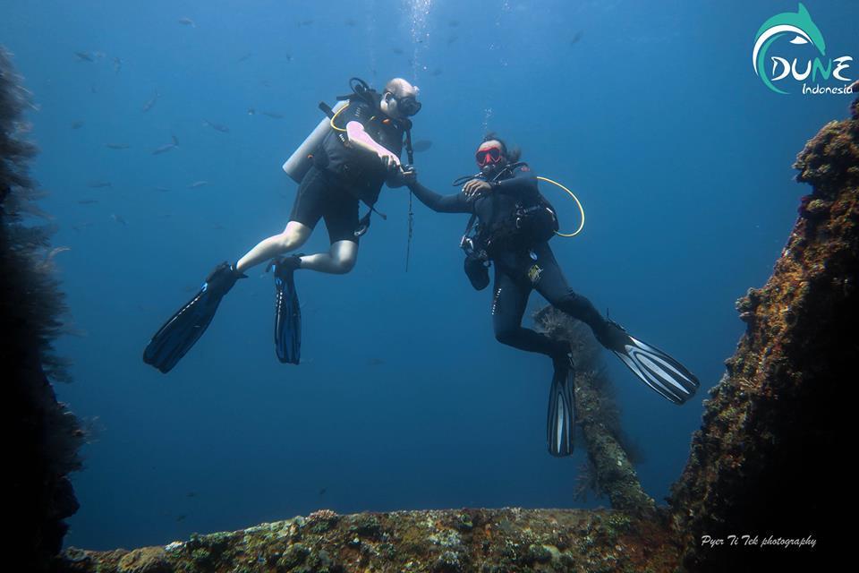 Erreur courante des plongeurs débutants lors de leur première plongée