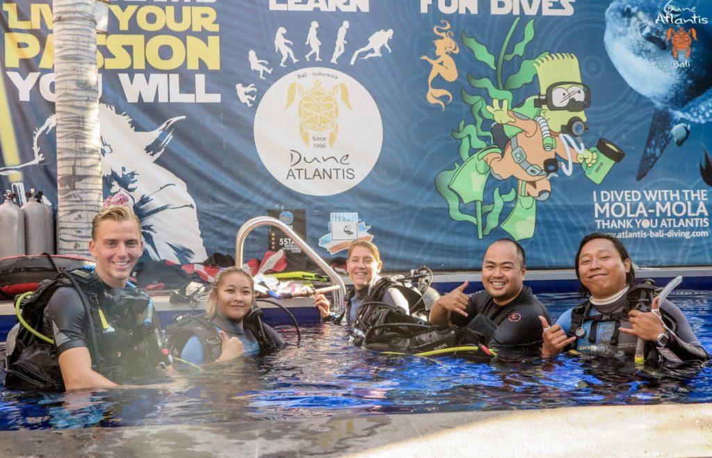 Matériel à préparer pour votre baptême de plongée à Bali