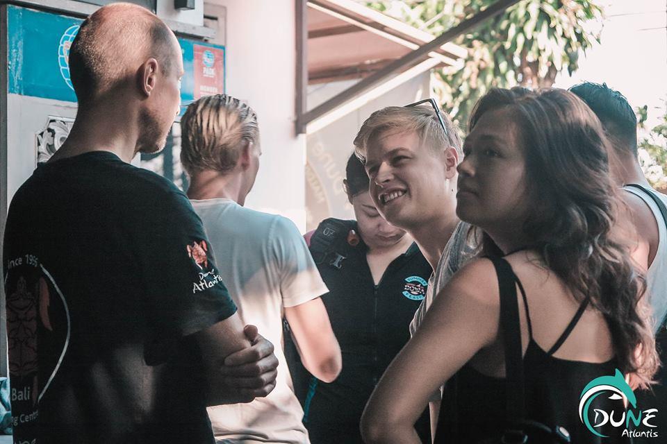 5 Types de personnes que vous rencontreriez en club de plongée à Bali