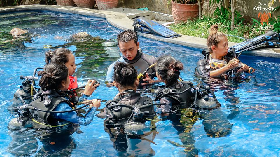 Formation plongée: Comment Passer open water Bali