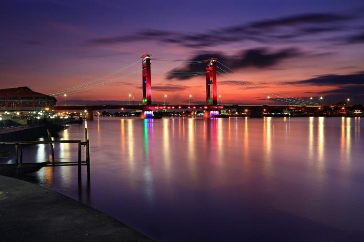 Palembang, la Venise de l'Indonésie