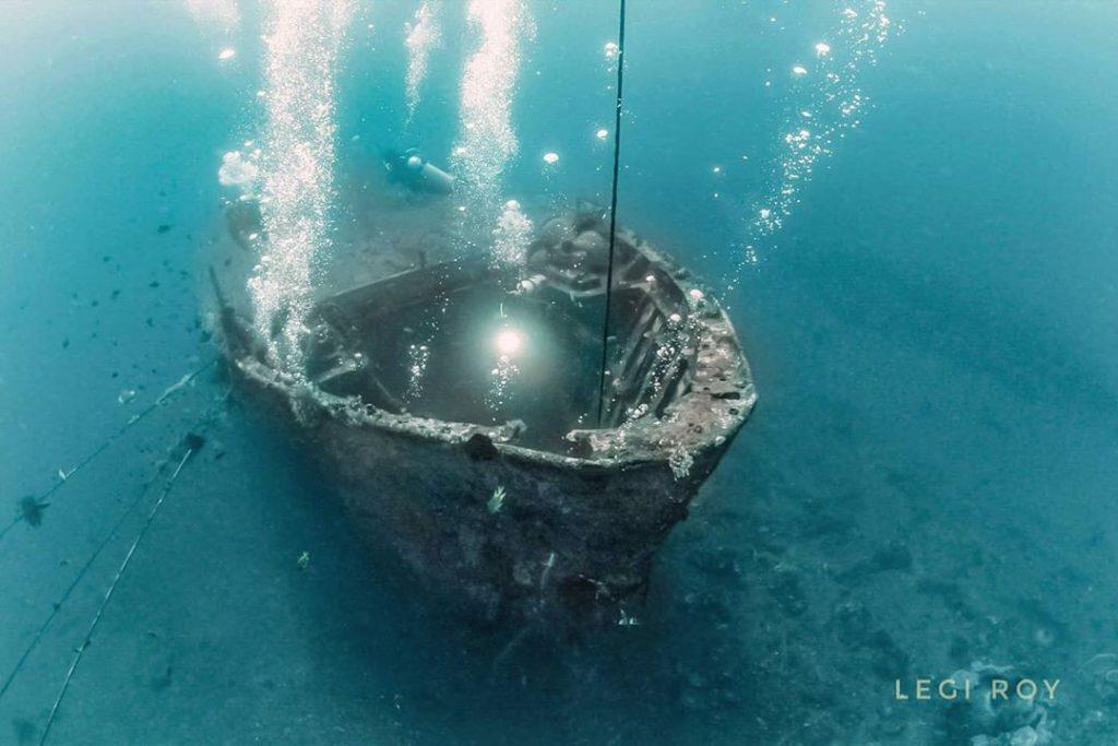 Une journée à Kubu Boga Wreck Diving Bali